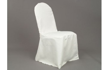 Polyester Banquet Chair Cover - Ivory