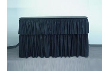 6 ft Straight Bar - Available in Black and White