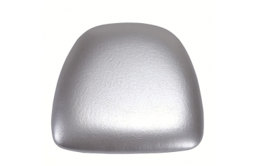 Chair Cushion Vinyl Silver
