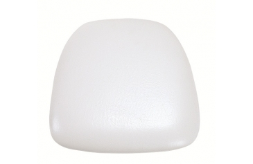 Chair Cushion Vinyl White