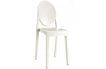 White Ghost Acrylic Chair